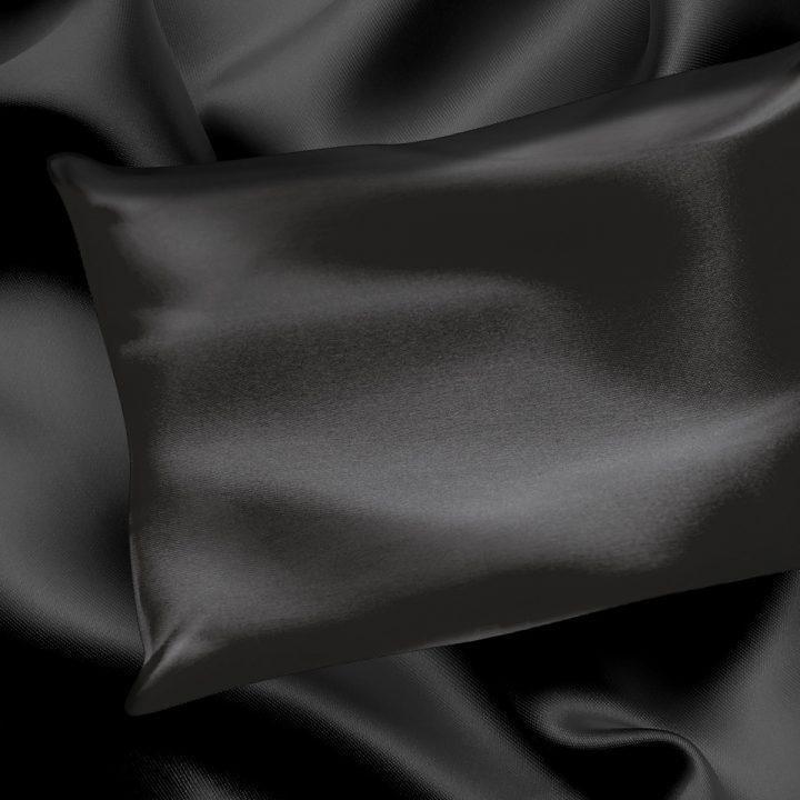 Silk Black Pillowcase