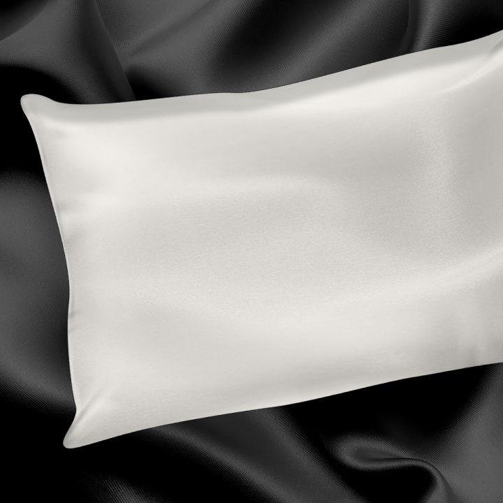 Silk Pearl White Pillowcase
