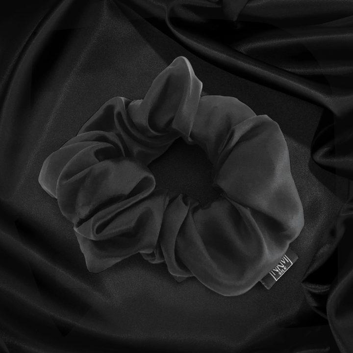 nkm-black-silk-scrunchie
